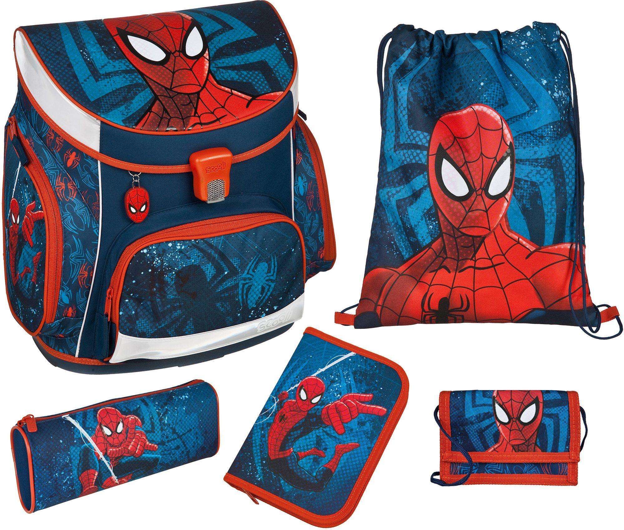Scooli Schulranzen Set 5tlg., »Campus Up Spiderman«