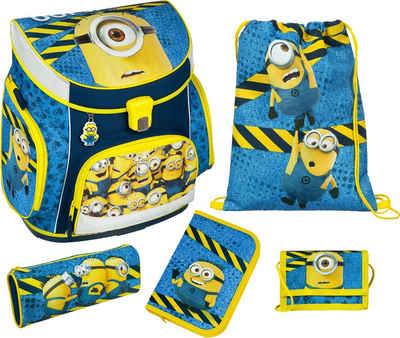 Scooli Schulranzen Set 5tlg., »Campus Up Minions«