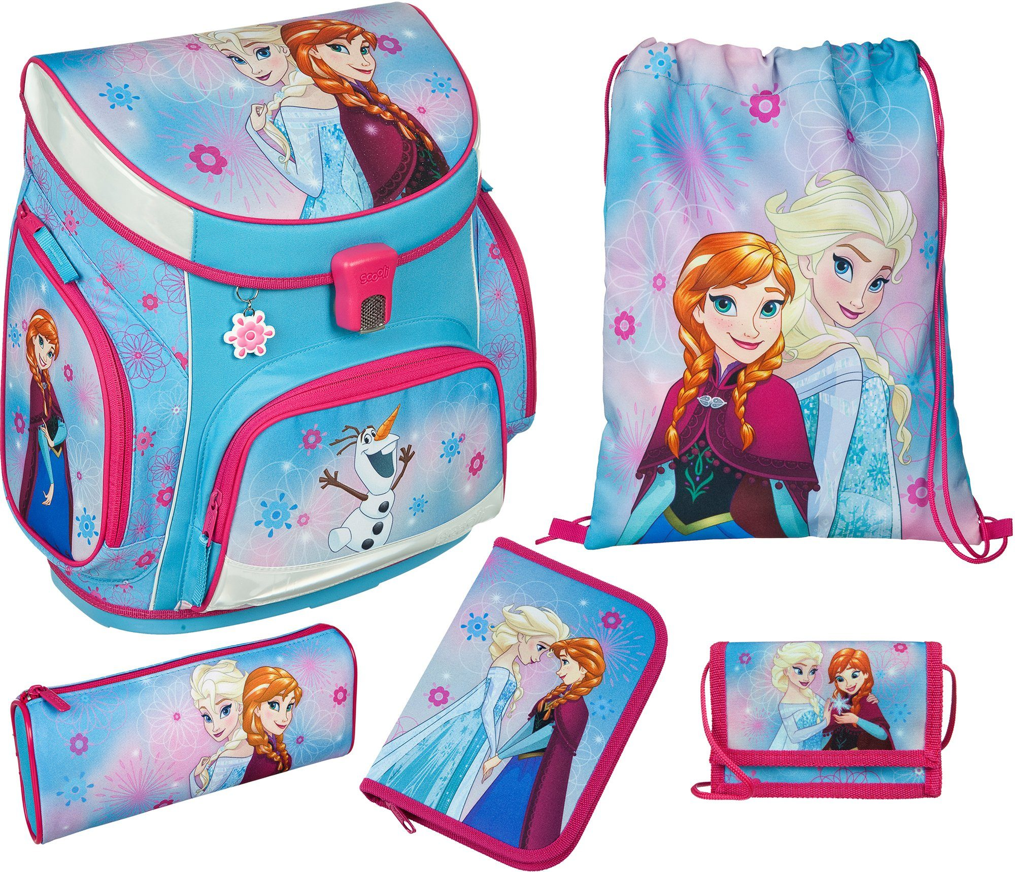 Scooli Schulranzen Set 5tlg., »Campus Up Frozen«
