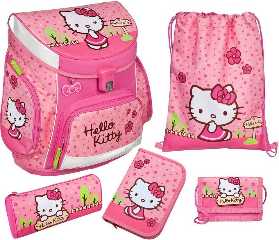 Scooli Schulranzen Set 5tlg.,  Campus Up Hello Kitty  online kaufen