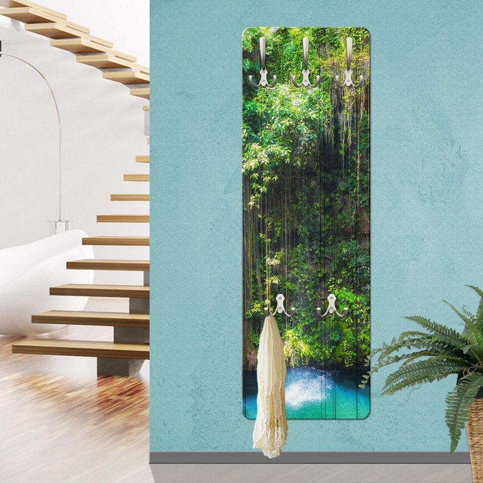 bilderwelten wandgarderobe h ngende wurzeln von ik kil. Black Bedroom Furniture Sets. Home Design Ideas