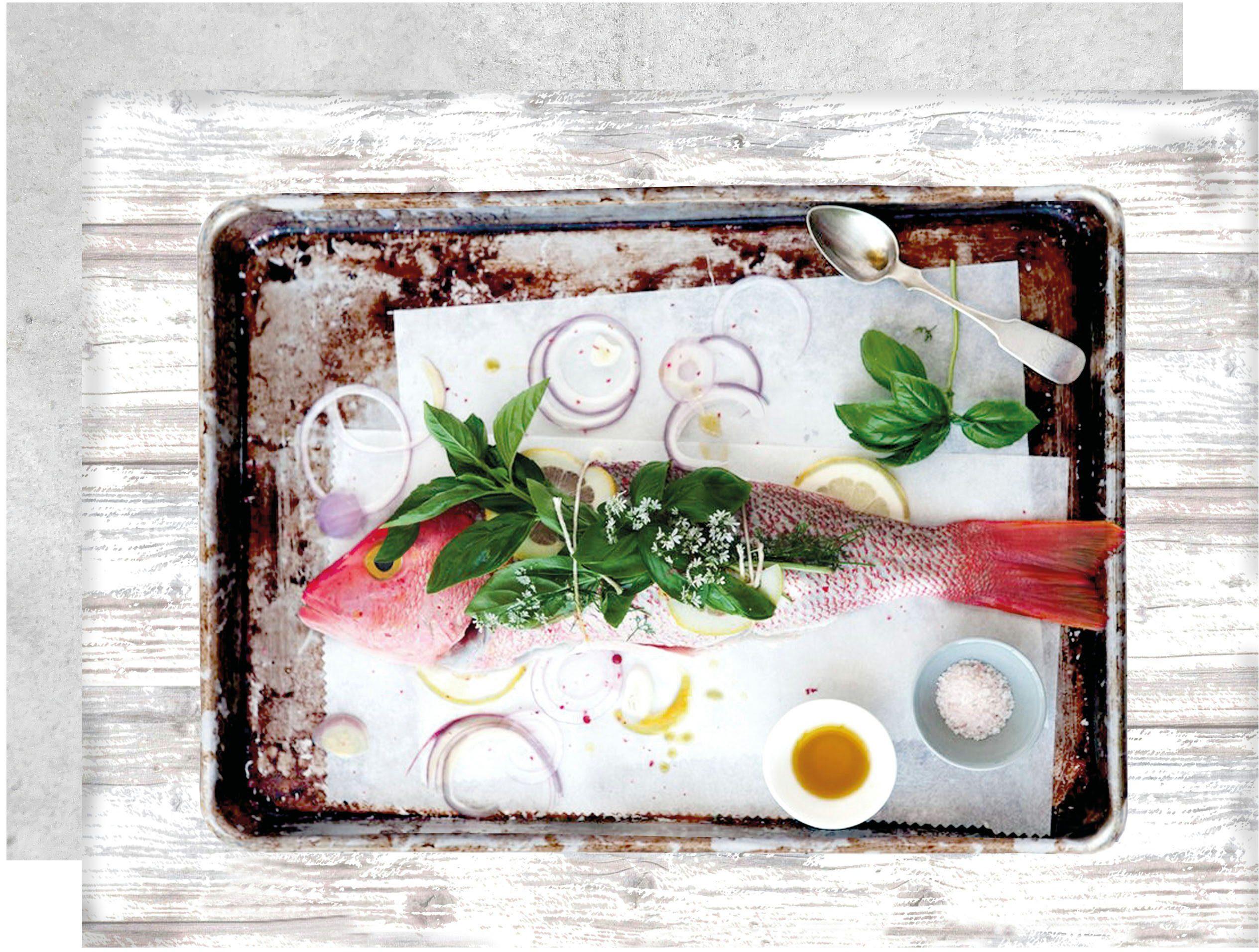 Apelt Platzset, 35x48 cm, »3955 DELIKATESSEN« (4 Stck.), Motiv »Fisch«