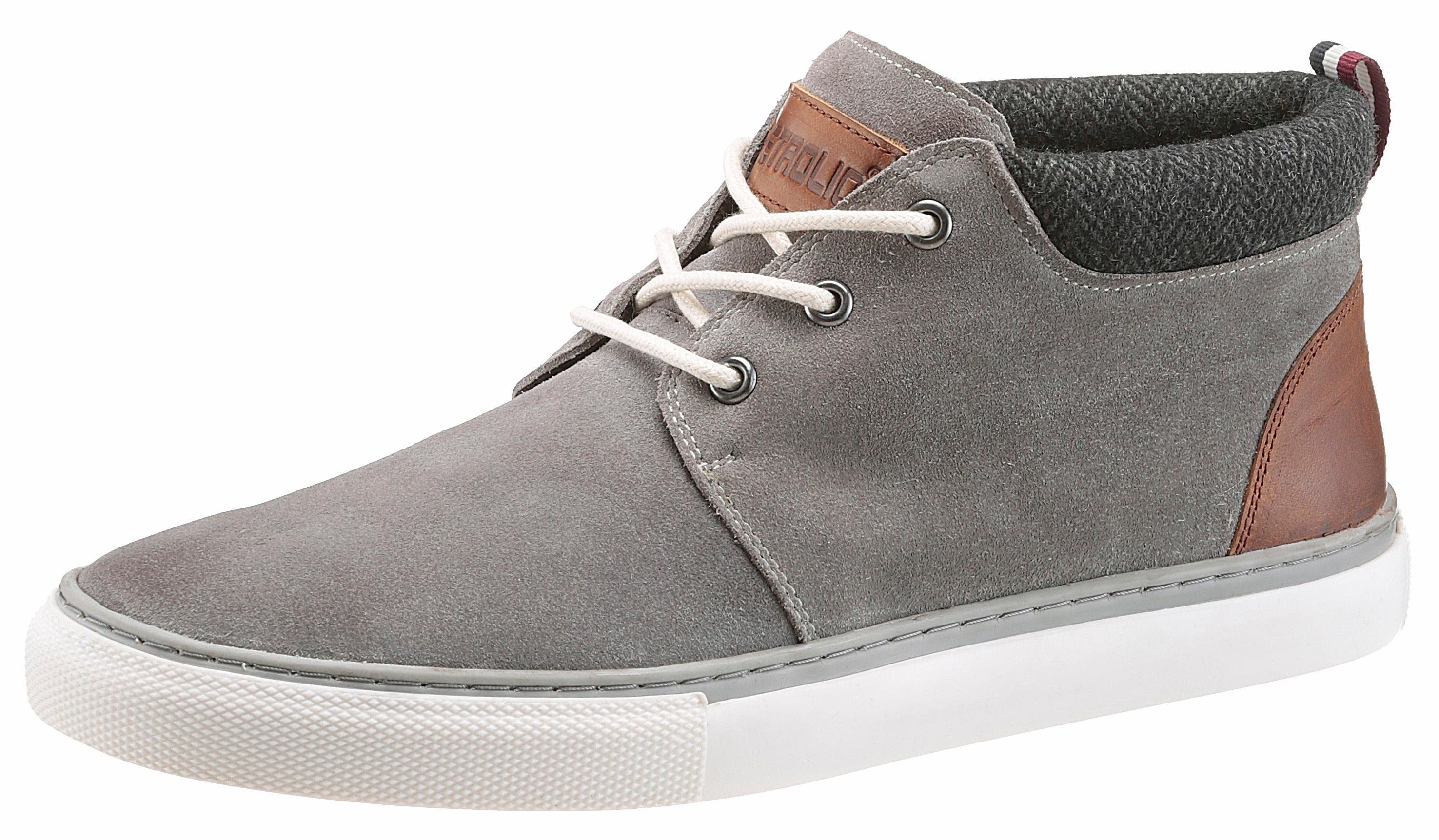 PETROLIO Sneaker, mit stylischer Verzierung am Schaft online kaufen  grau