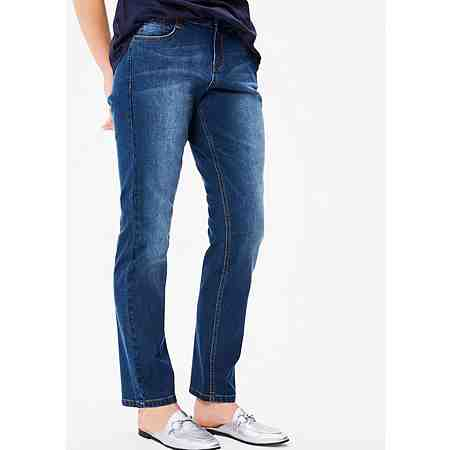 TRIANGLE Curvy: Schmale Stretch-Denim