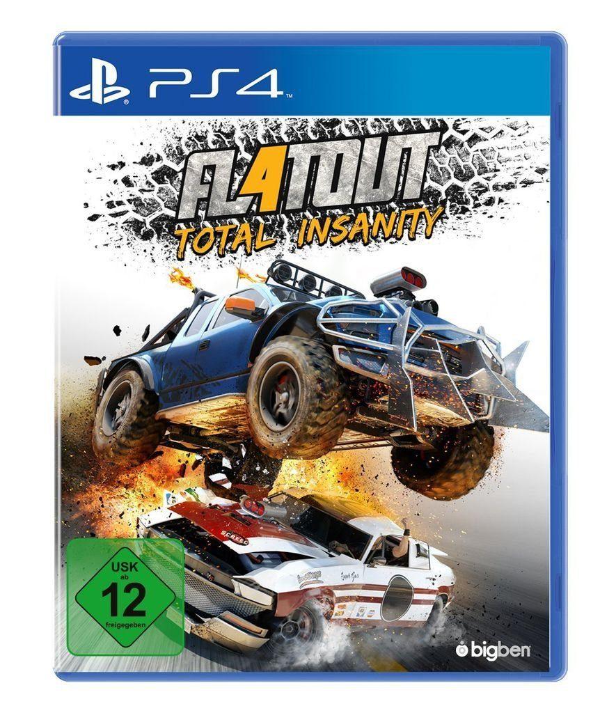 BigBen Playstation 4 - Spiel »Flatout - Total Insanity«
