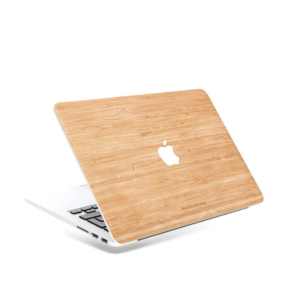 Woodcessories EcoSkin - Echtholz Cover MacBook Pro Retina 13,3 Zoll Bambus