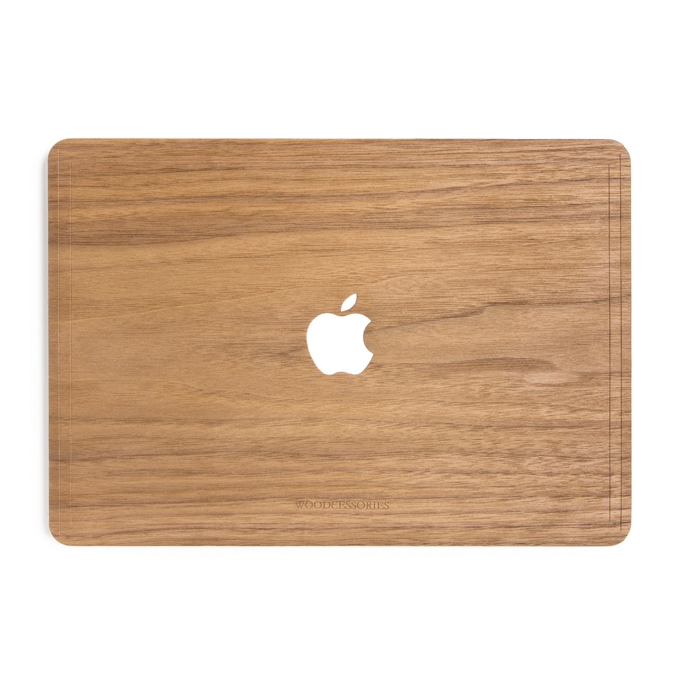 Woodcessories EcoSkin - Echtholz Cover MacBook Air 11,6 Zoll - Walnuss