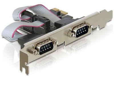 Delock PCI Express Karte »2 x Seriell«