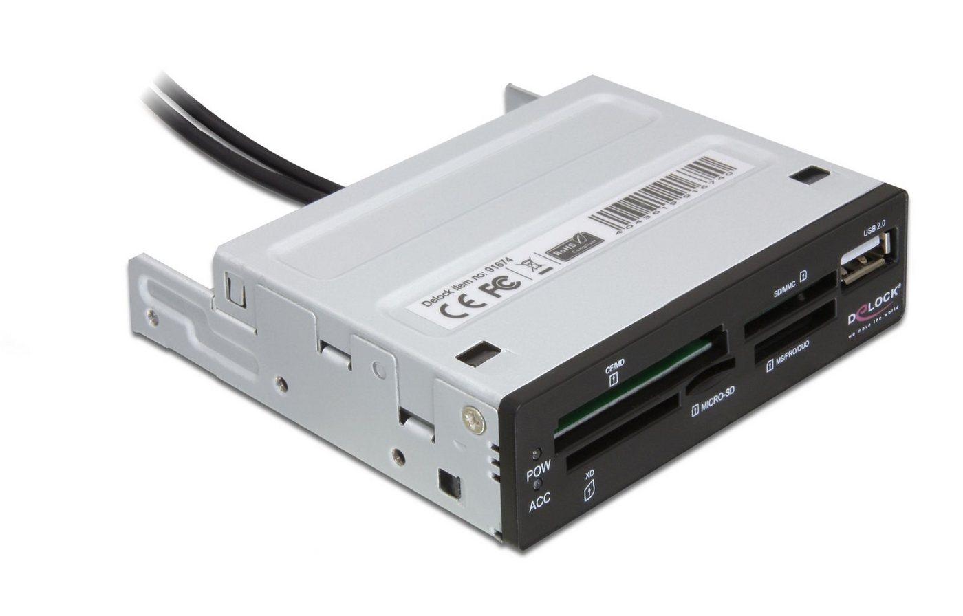 DELOCK 3.5″ USB 2.0 Card Reader 5 Slot »1 x USB 2.0 Por«