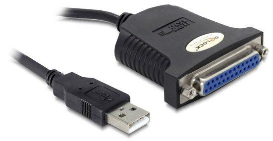 Delock USB 1.1 zu Paralell »Adapterkabel 0,8 m«