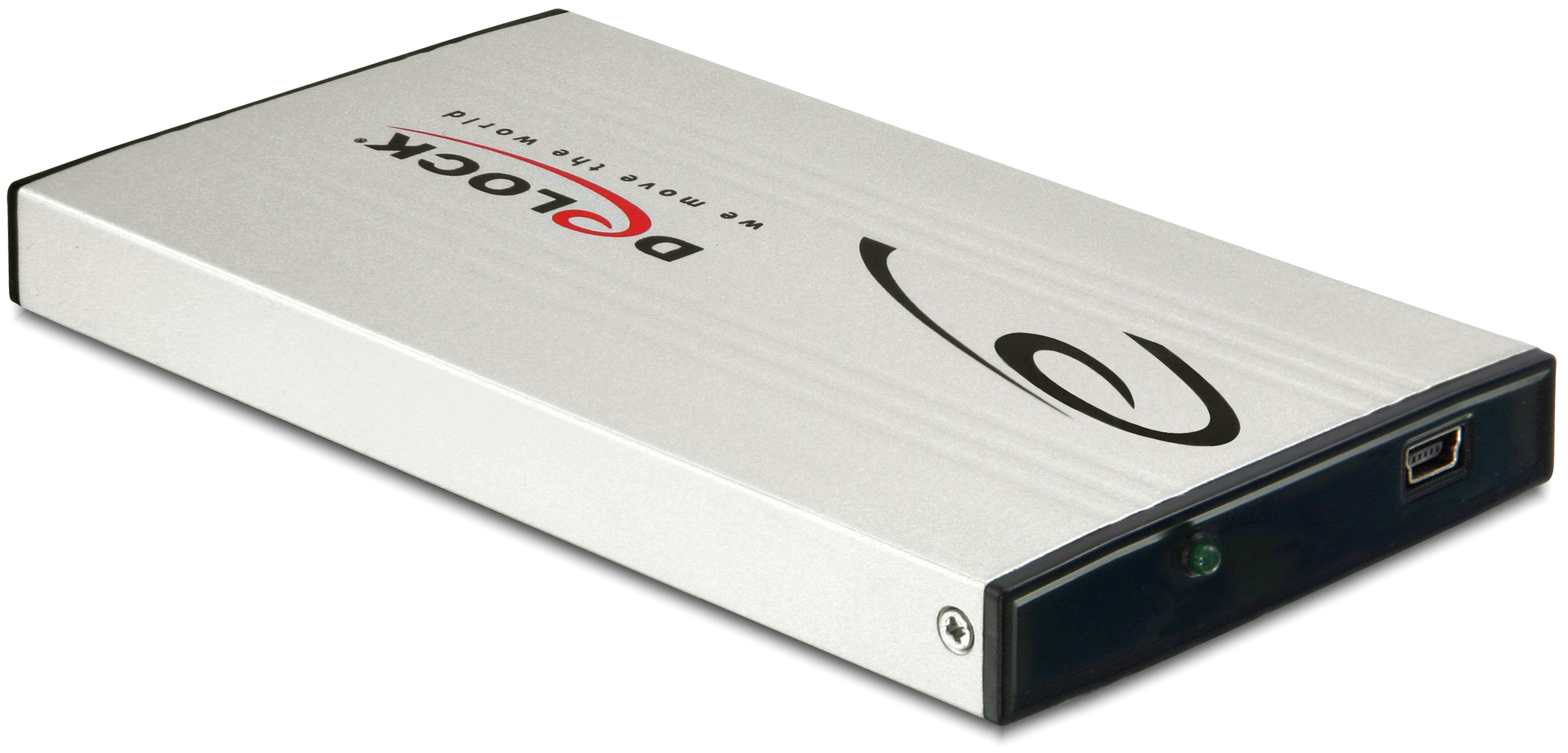 DELOCK 2.5″ Externes Gehäuse SATA HDD »USB 2.0«