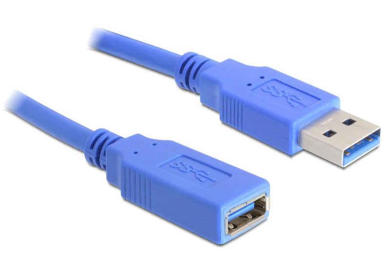 Delock Kabel »USB 3.0-A Verlängerung Stecker-Buchse 1m«