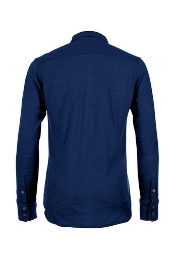 Super.Natural Merino Hemd M COMFORT PIQUET SHIRT