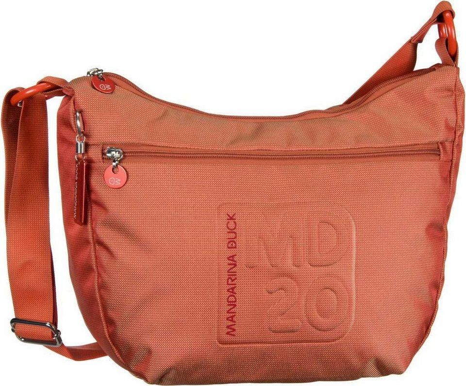 Mandarina Duck MD20 Crossover Bag in Sun Orange