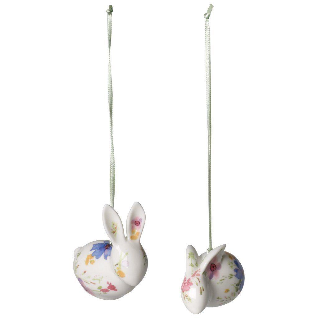Villeroy & Boch Ornament Hase 2tlg. 6cm »Mariefleur Spring«