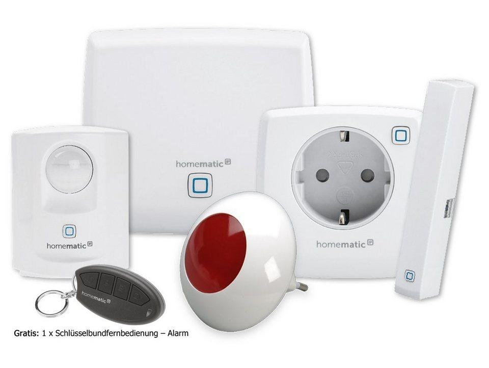 Homematic IP - Smart Home - Sicherheit & Komfort »Starter Set Sicherheit Plus« in weiss