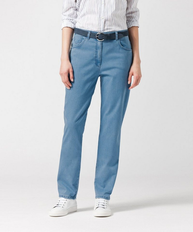 RAPHAELA by BRAX Damenhose Five-Pocket-Jeans »CORRY OCEAN« in BLEACHED