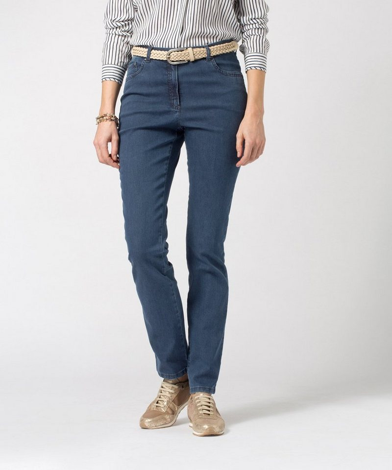 RAPHAELA by BRAX Damenhose Five-Pocket-Jeans »INA OCEAN« in STONED