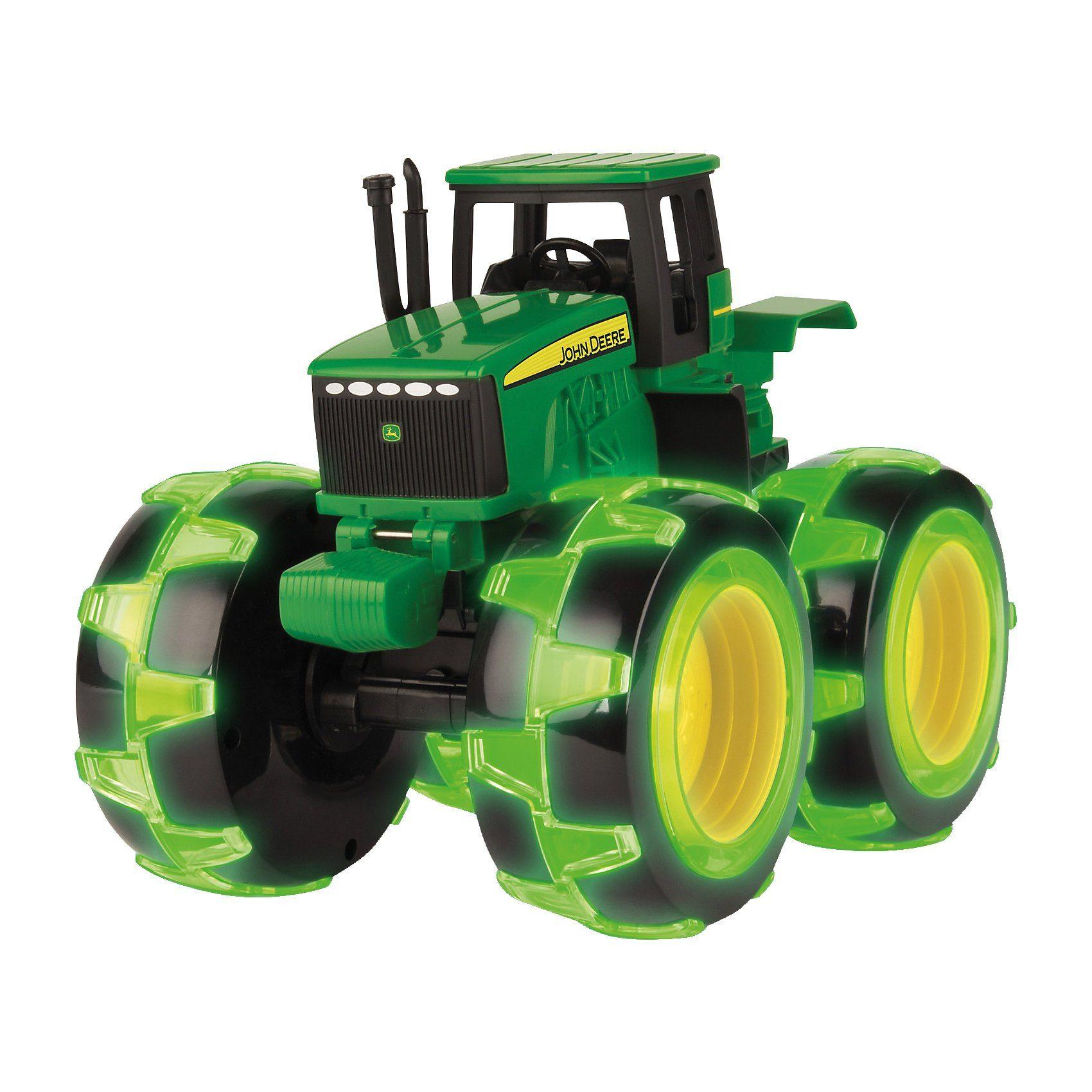 Tomy® Monster Treads John Deere mit leuchtenden Rädern