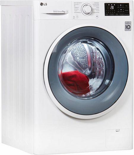 LG Waschmaschine F14WM9EN0, 9 kg, 1400 U/Min