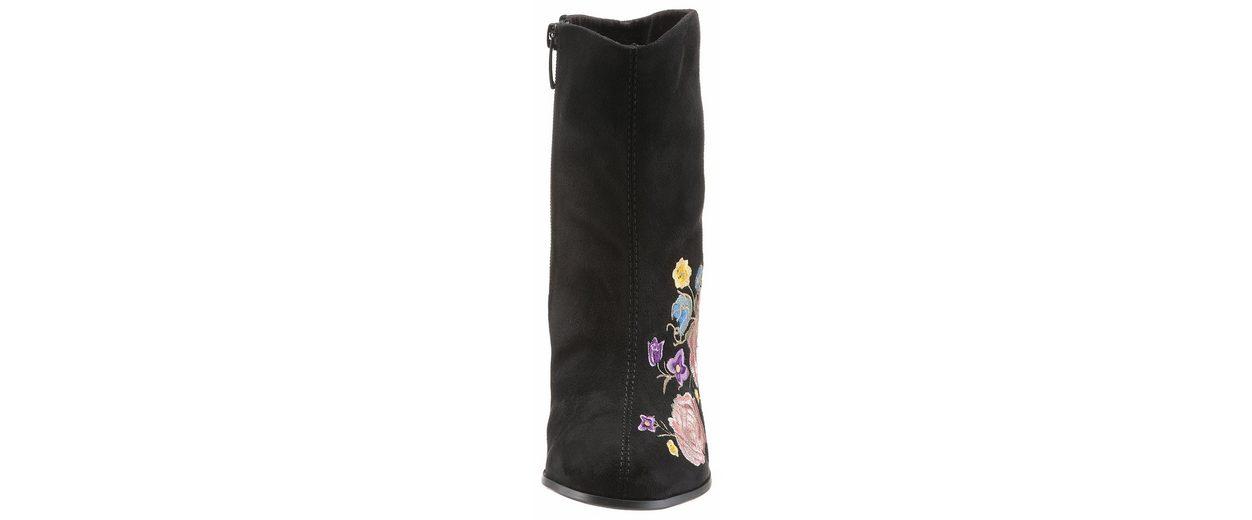 Arizona Stiefelette, mit toller Blüten-Stickerei