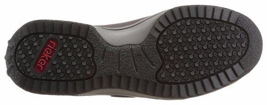 Rieker Schnürschuh, mit trendigen Zier-Reißverschluss