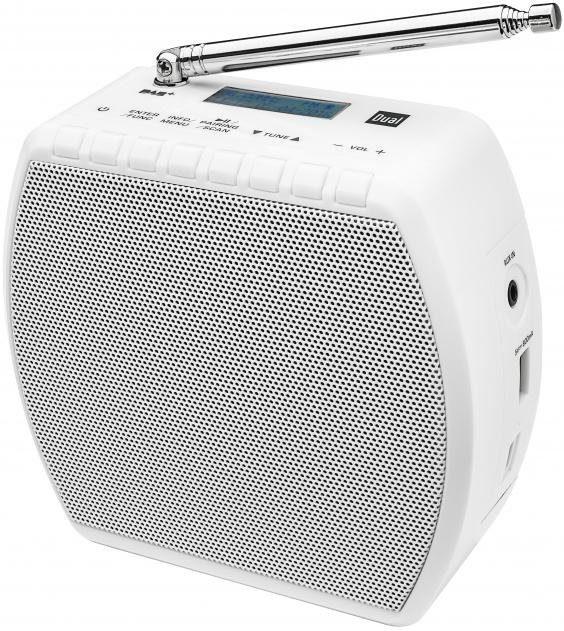 Dual DAB STR 100 Portables DAB+ / UKW Radio mit abnehmbaren Stecker und Bluetooth Radio Digitalradio (DAB+) Bluetooth 1x USB