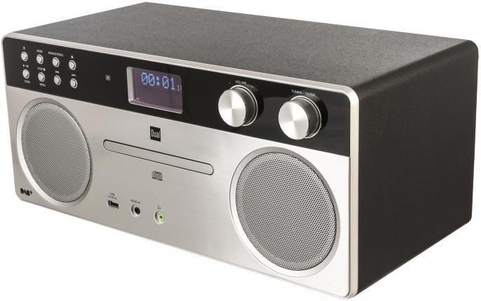 dual dab555 ukw stereoanlage mit cd player mp3 und. Black Bedroom Furniture Sets. Home Design Ideas