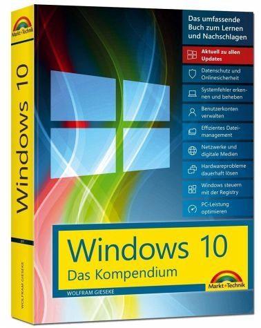 Broschiertes Buch »Windows 10 - Das Kompendium - inkl....«
