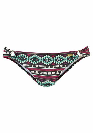 LASCANA Bikini-Hose »June«, mit goldfarbenen Zierringen