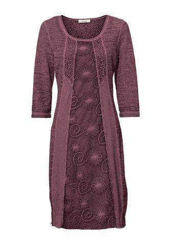 HEINE CASUAL nėriniuota suknelė iš trikotaža...
