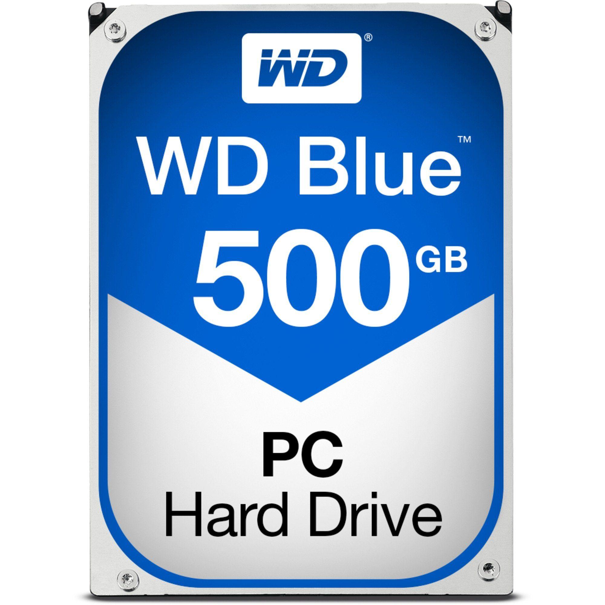 Western Digital Festplatte »WD 500GB WD5000AZLX Blue SA3«