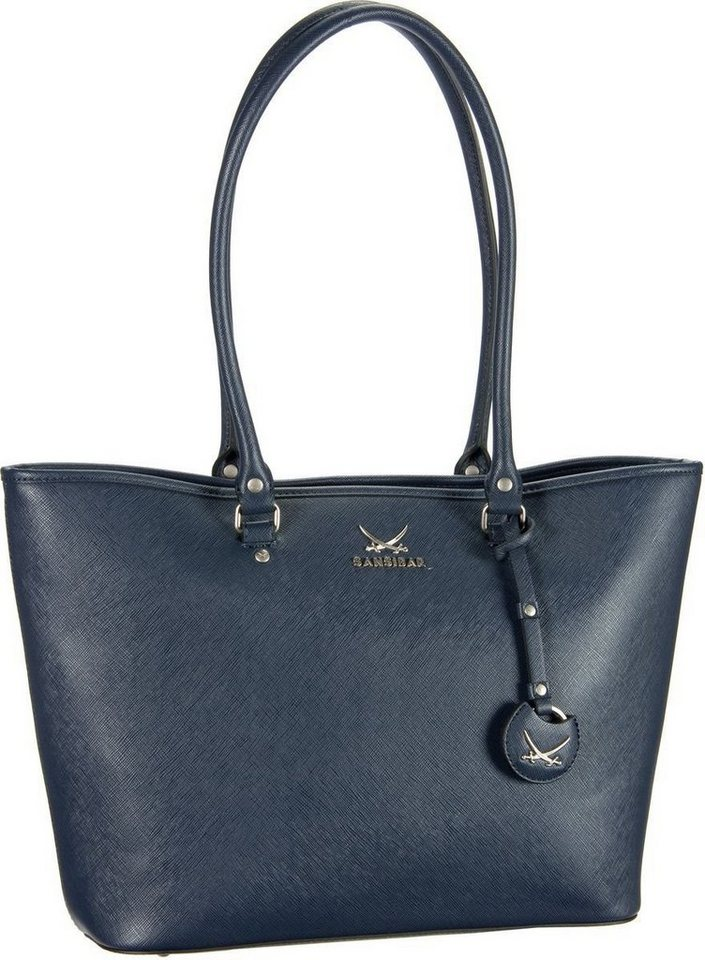 SANSIBAR Sansibar Chic Shopper Bag in Midnight Blue