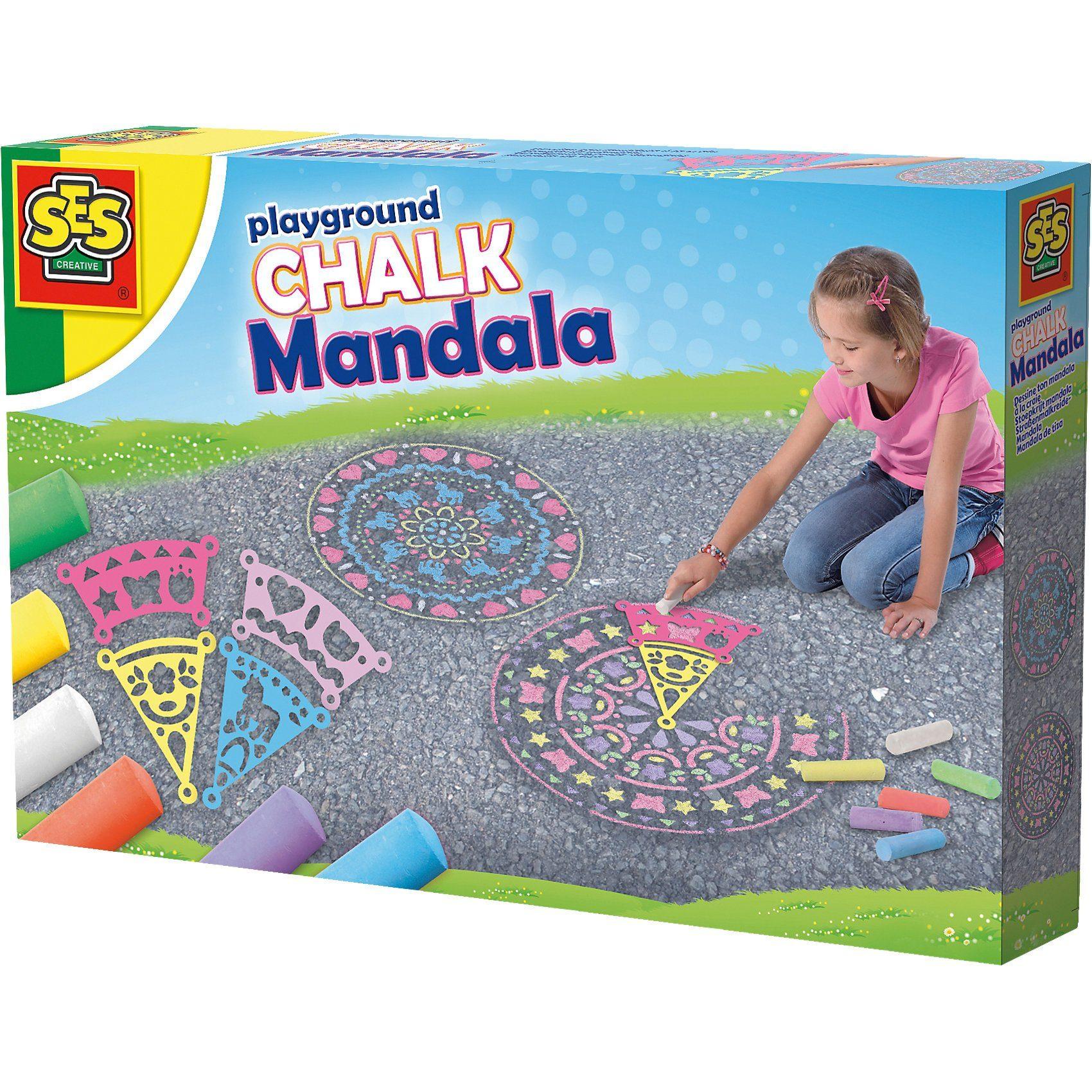 SES Creative Straßenmalkreide Mandala