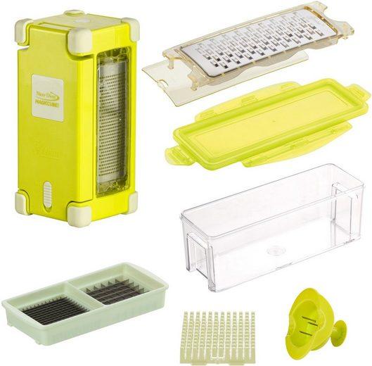 Genius Zerkleinerer Nicer Dicer Magic Cube Gourmet, 9-tlg., 350 ml Auffangbehälter