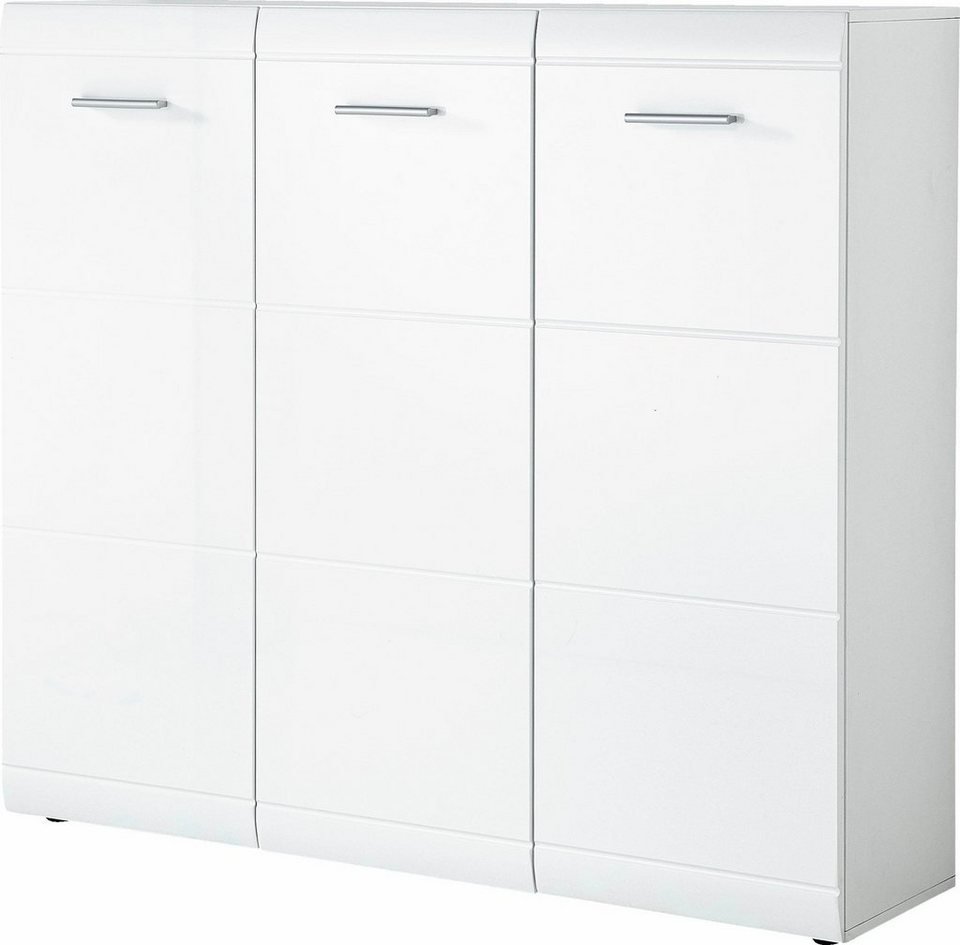 germania schuhschrank adana breite 134 cm mit 3 t ren online kaufen otto. Black Bedroom Furniture Sets. Home Design Ideas