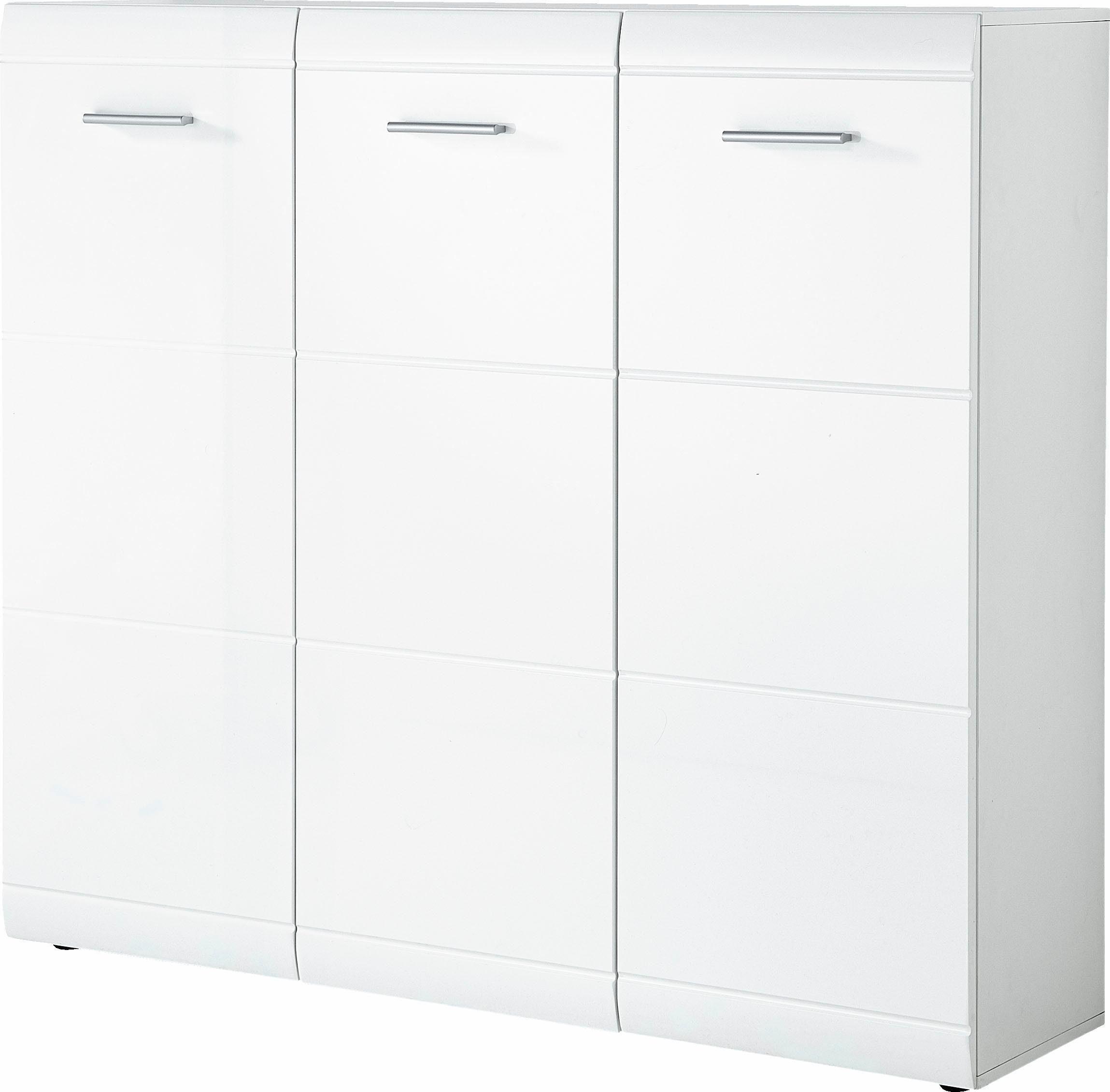 GERMANIA Schuhschrank »Adana«, Breite 134 cm, mit 3 Türen