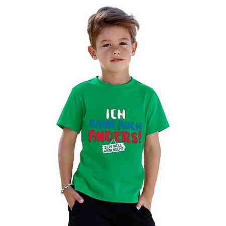 Kids (Gr. 92 - 146): Shirts: Sprücheshirts