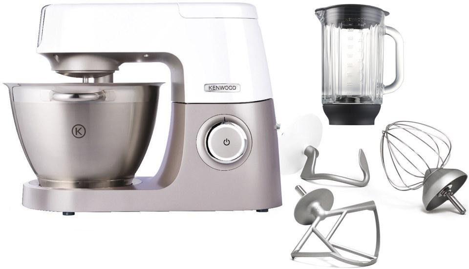 Kenwood Küchenmaschine »Chef Sense KVC5010T«, 1100 Watt, NEU mit 1,6 l Glasmixaufsatz AT358