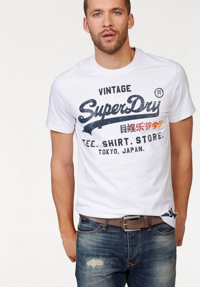 superdry t shirt shirt shop surf tee kaufen otto. Black Bedroom Furniture Sets. Home Design Ideas