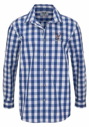 Wiesenprinz Trachtenhemd, krempelbar