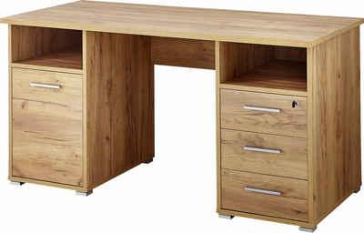 GERMANIA Schreibtisch »4080«, mit 3 Schubkästen