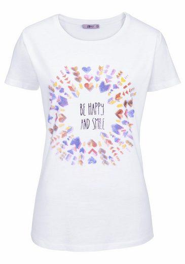 LTB T-Shirt, mit großem Front-Print