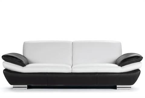 Sofa, CALIA ITALIA in weiß