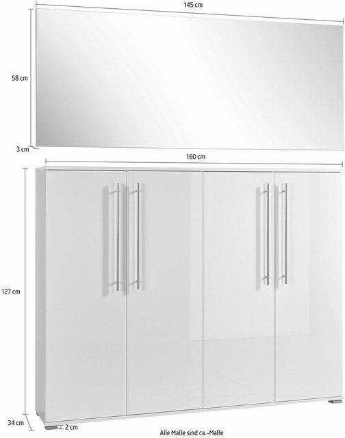 Garderoben Sets - GERMANIA Garderoben Set »Inside«, (Set, 2 tlg)  - Onlineshop OTTO