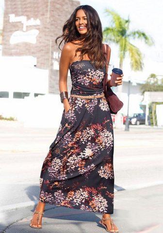LASCANA Платье-макси длинное