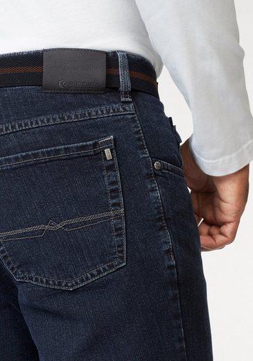 Pionier Stretch-Jeans Peter, inklusive Gürtel