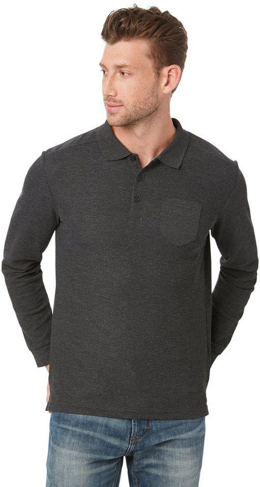 tom tailor poloshirt strukturiertes stoffmix polo shirt. Black Bedroom Furniture Sets. Home Design Ideas