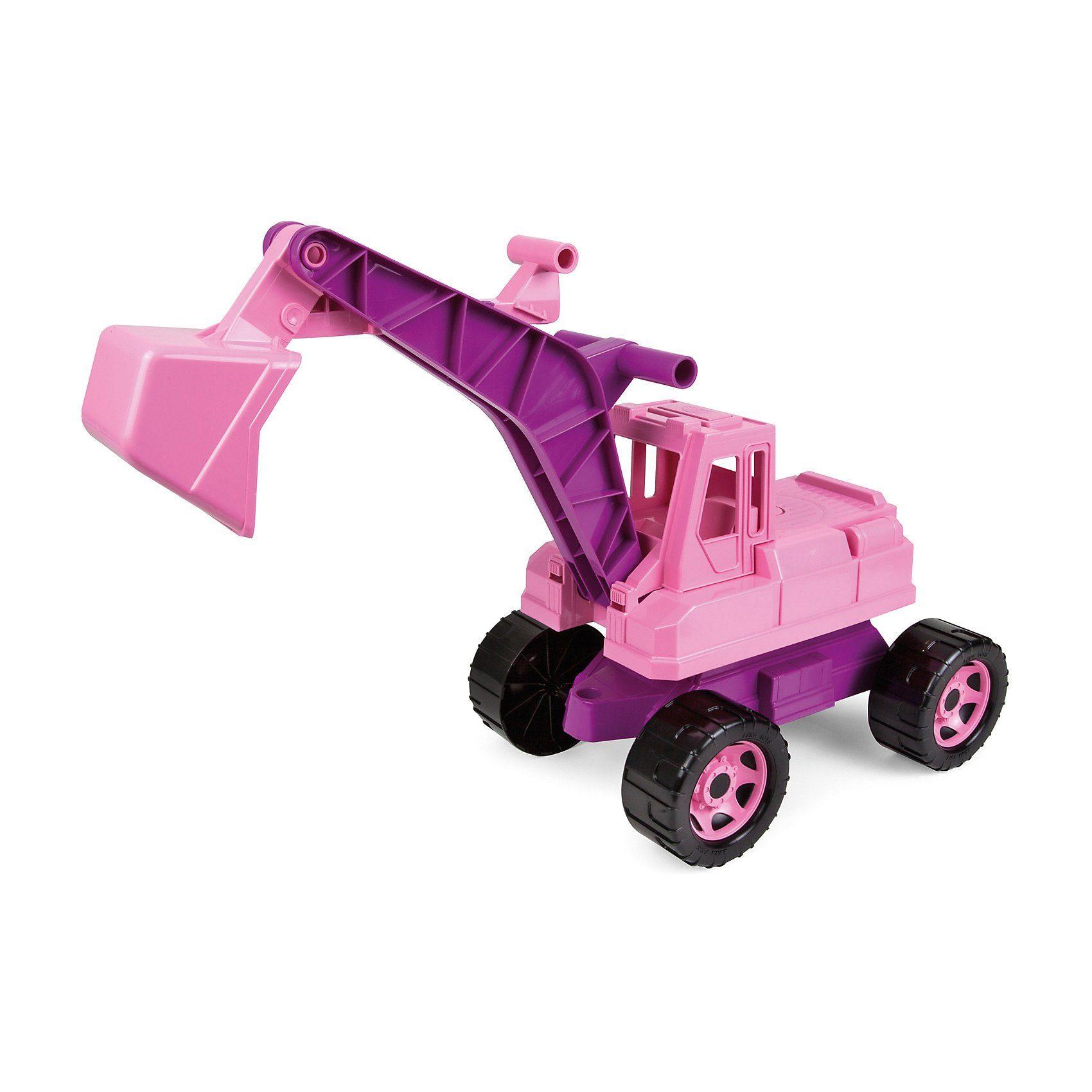 Lena® Sitzbagger Starke Riesen, rosa, ca. 70 cm