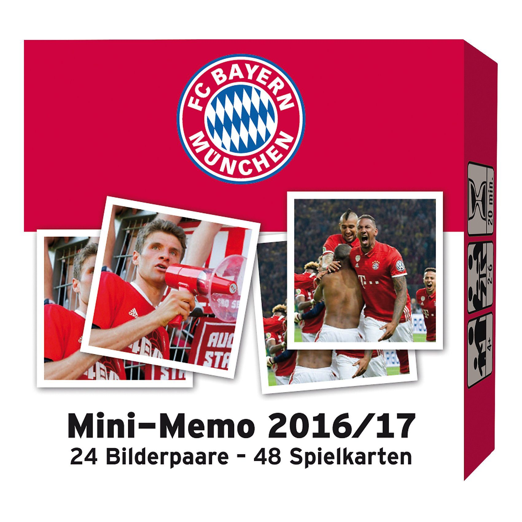 Amigo FC Bayern München Mini Memo 16/17